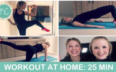 BBB workout voor thuis: Fit in 25 minuten!